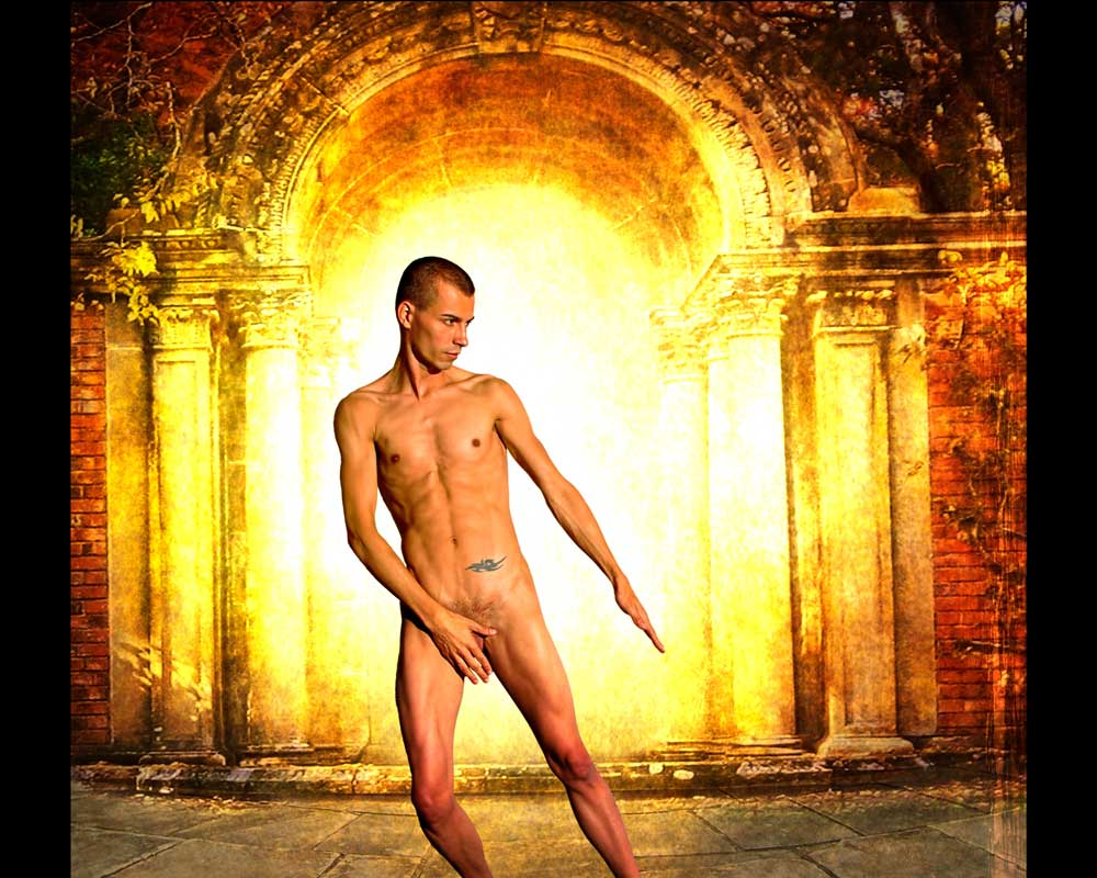 Arty - Gateway - Gay Art Male Art by Michael Taggart Photography