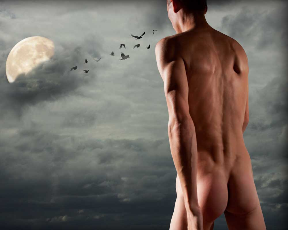 Arty Allen - Walkin After Midnight - Gay Art Male Art by Michael Taggart Photography