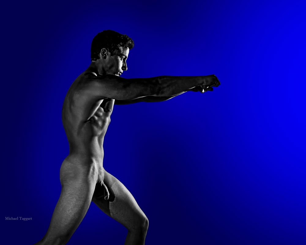 Matt - Warrior Inside 2 - Gay Art Male Art by Michael Taggart Photography