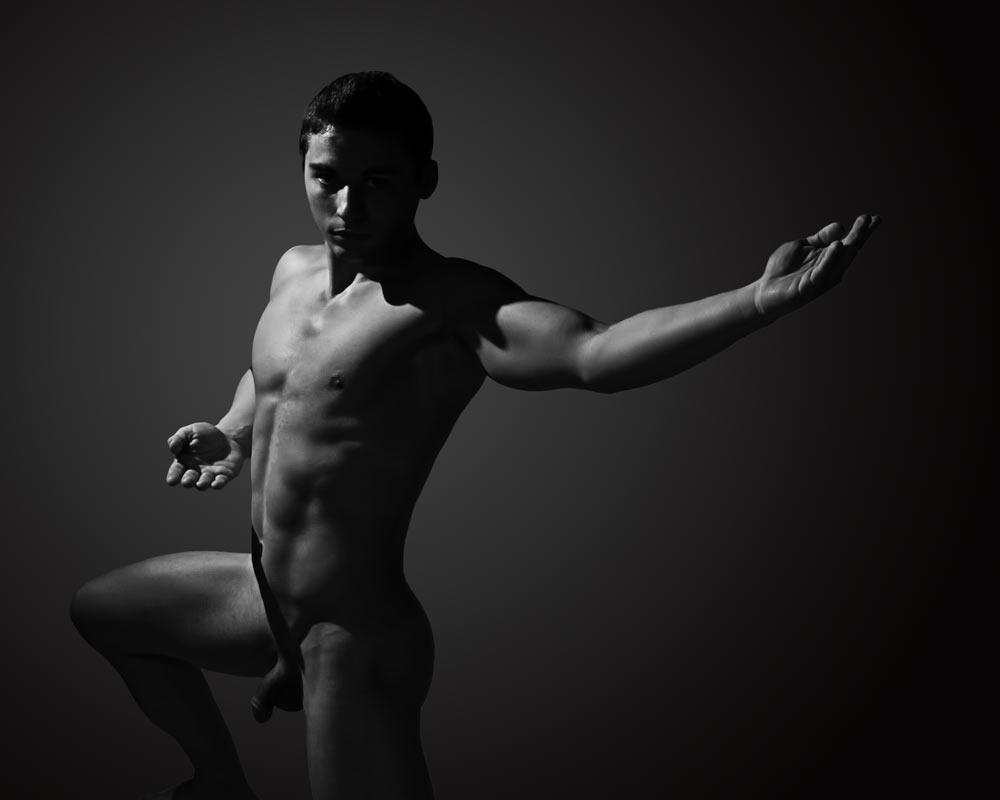 Matt - Warrior Inside - Gay Art Male Art by Michael Taggart Photography