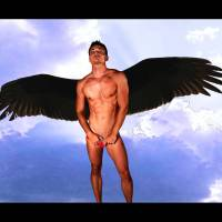 Dark Angel - Gay Art Male Art by Michael Taggart Photography