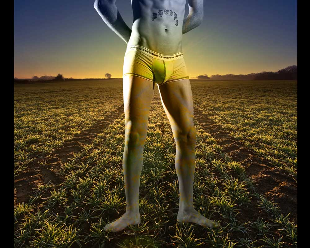 Michael Phelps - Sunrise - Gay Art Male Art by Michael Taggart Photography