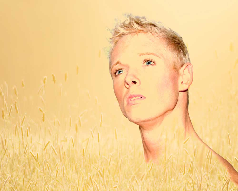 Trevor - Listen to the Earth - Gay Art Male Art by Michael Taggart Photography