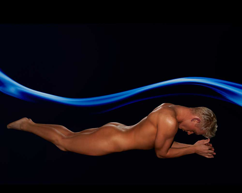 Trevor - Wind Tunnel - Gay Art Male Art by Michael Taggart Photography