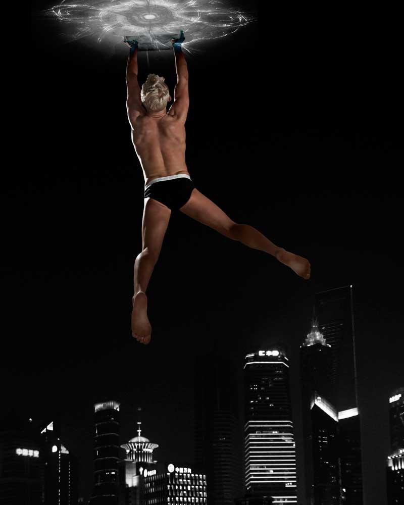 Trevor - Avenger - Gay Art Male Art by Michael Taggart Photography