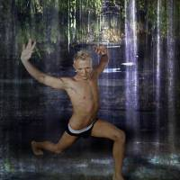 Jungle Warrior - gay art male art by Michael Taggart Photography