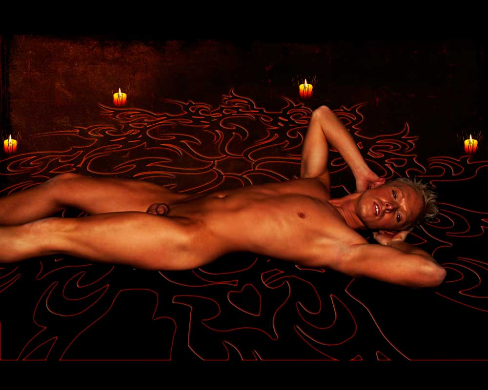 Trevor - Summoning an Incubus 2 - Gay Art Male Art by Michael Taggart Photography