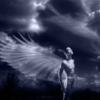 Wings for Heaven - gay art male art by Michael Taggart Photography