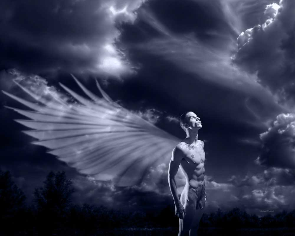 A Wish for Wings - Gay Art Male Art by Michael Taggart Photography