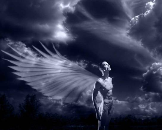 Andrew - A Wish for Wings - Gay Art Male Art by Michael Taggart Photography