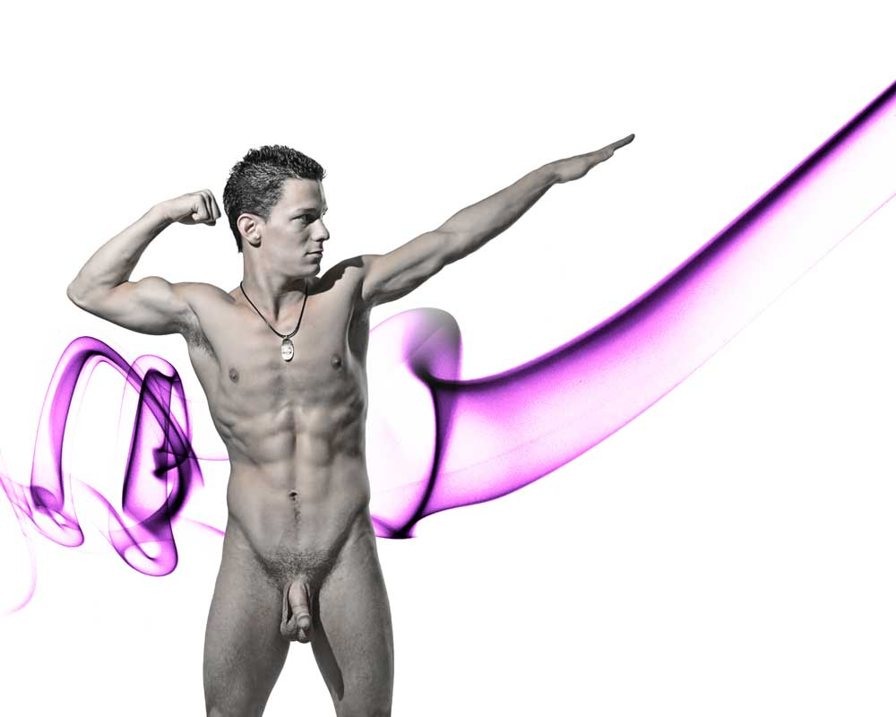 Develop Muscles - Gay Art Male Art by Michael Taggart Photography