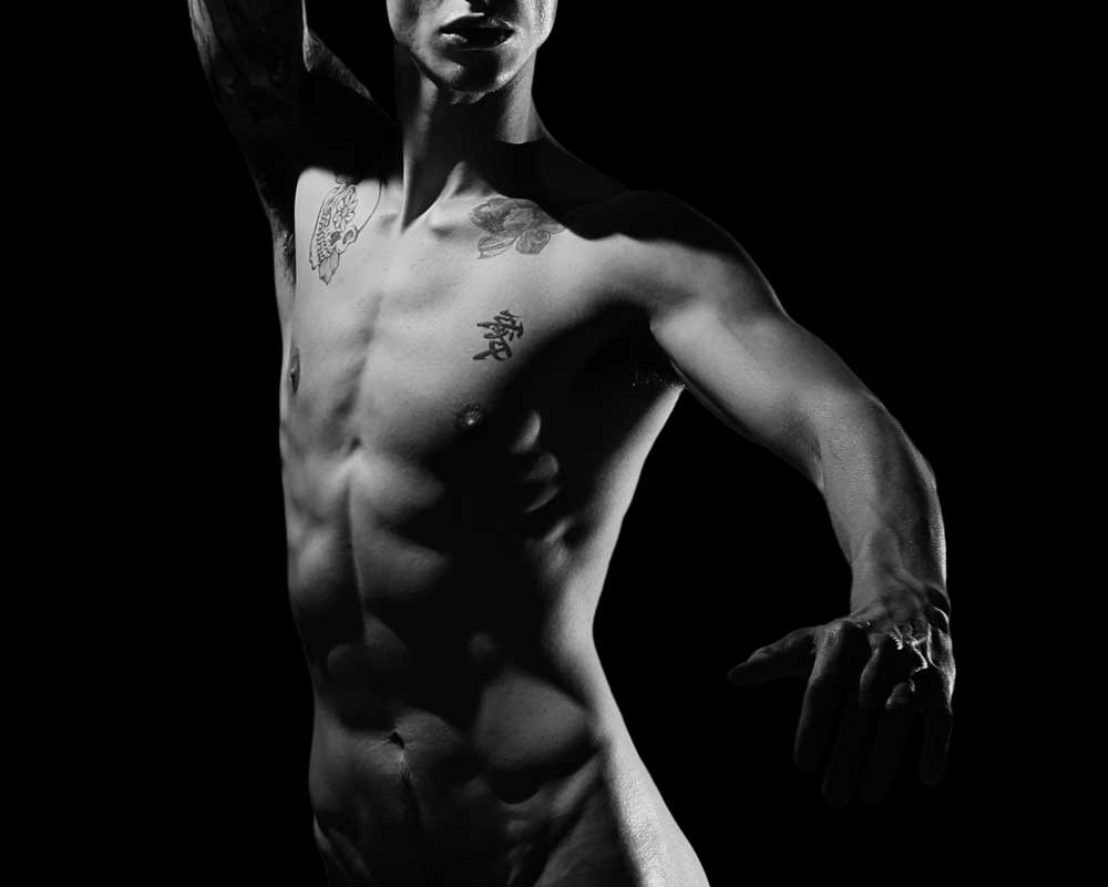 Angel Dancer 1 -  Gay Art Male Art by Michael Taggart Photography
