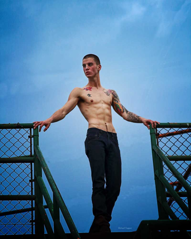 Nothing but Blue Skies - Gay Art Male Art by Michael Taggart Photography