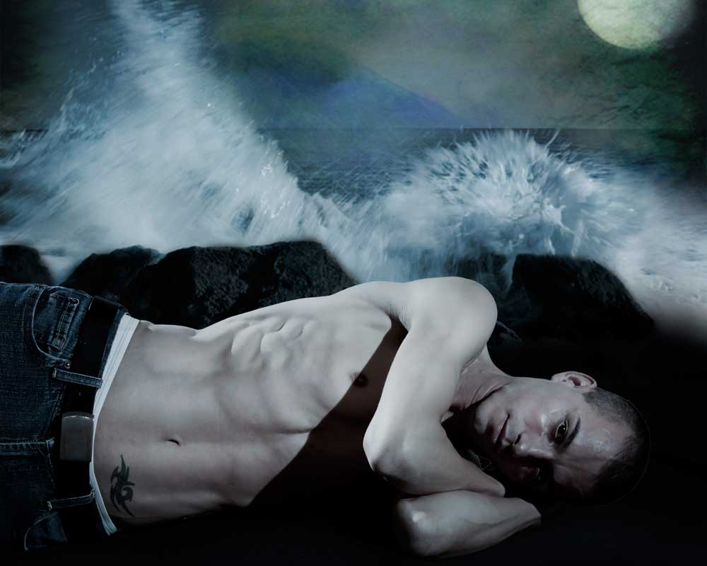 Wet Dream -  Gay Art Male Art by Michael Taggart Photography