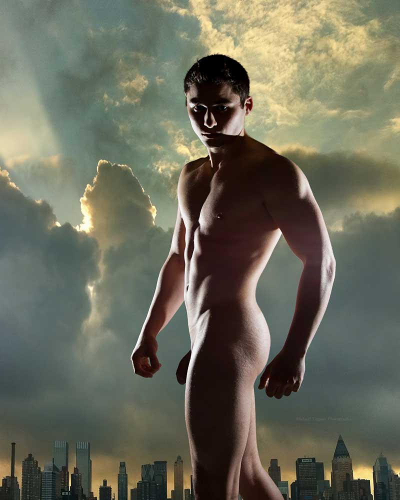 Young God - Gay Art Male Art by Michael Taggart Photography
