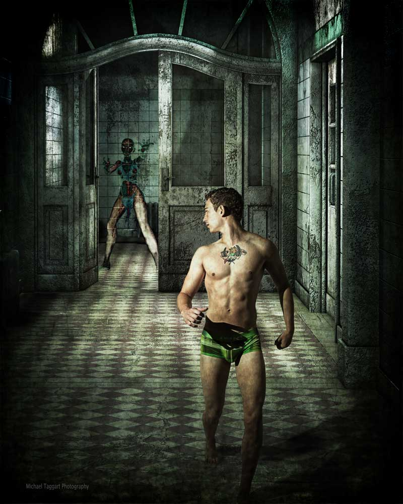 Asylum  - Gay Art Male Art by Michael Taggart Photography
