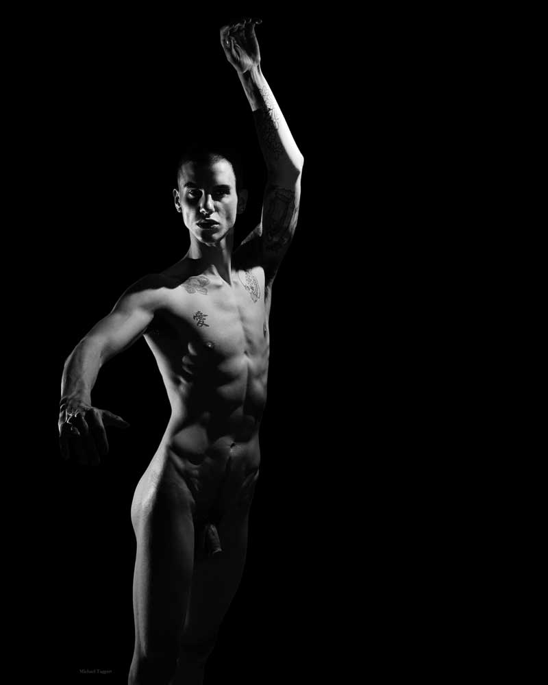 Angel Dancer 2   - Gay Art Male Art by Michael Taggart Photography