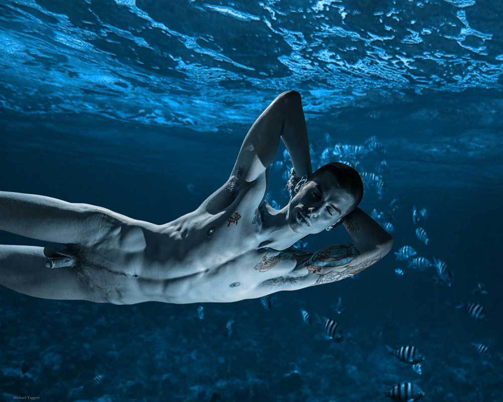 Merman Dreams -  Gay Art Male Art by Michael Taggart Photography