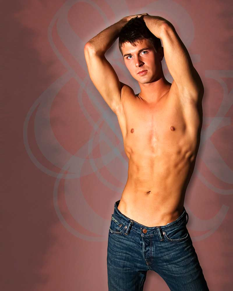 Denim  - Gay Art Male Art by Michael Taggart Photography