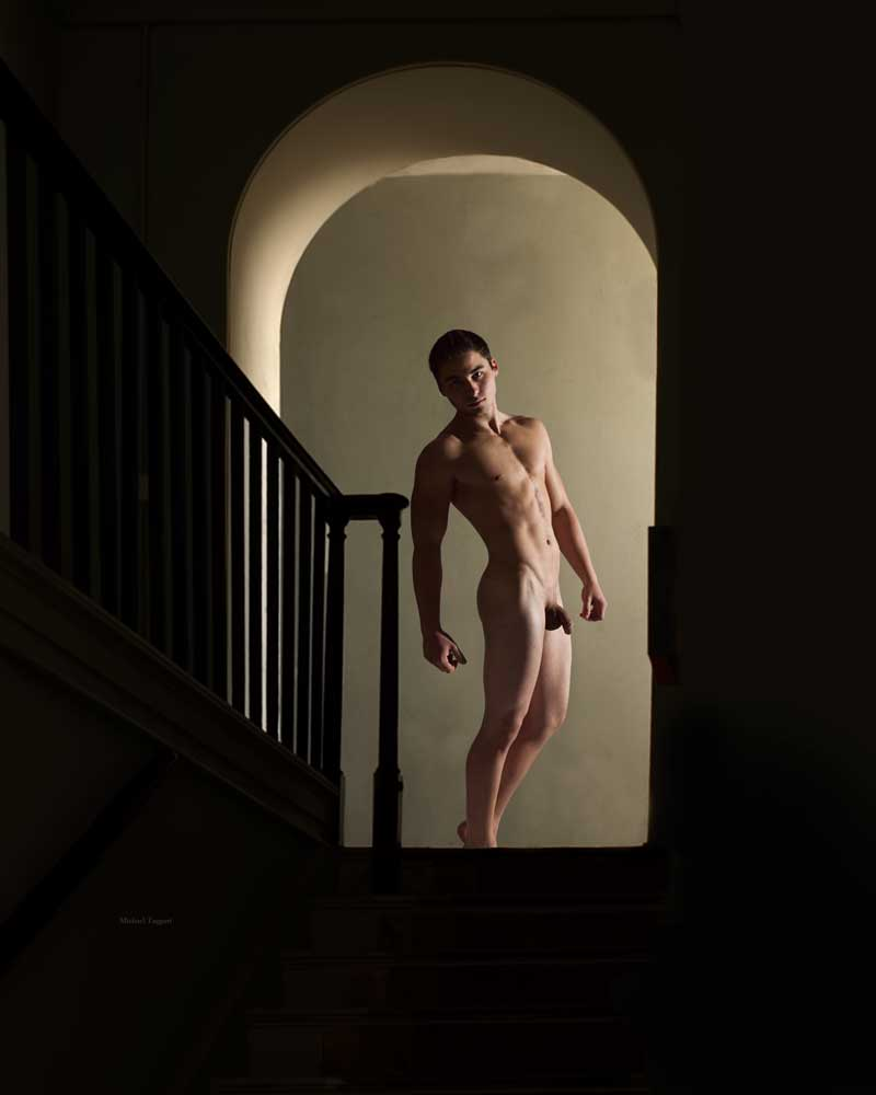 His Older Brother -  Gay Art Male Art by Michael Taggart Photography