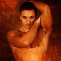 Cast in Copper - gay art male art by Michael Taggart Photography