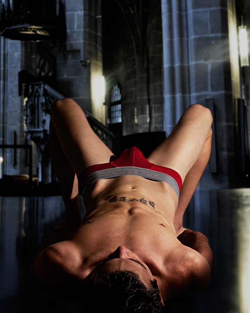 Altar Boy  - Gay Art Male Art by Michael Taggart Photography