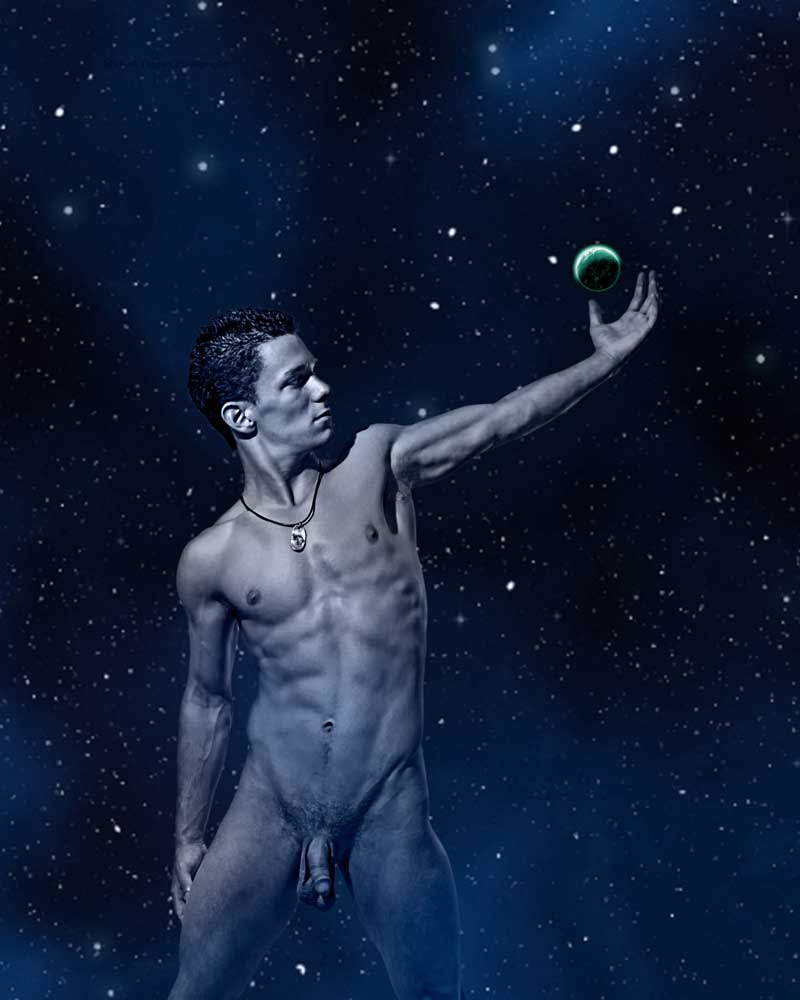 Star Light, Star Bright   -  Gay Art Male Art by Michael Taggart Photography
