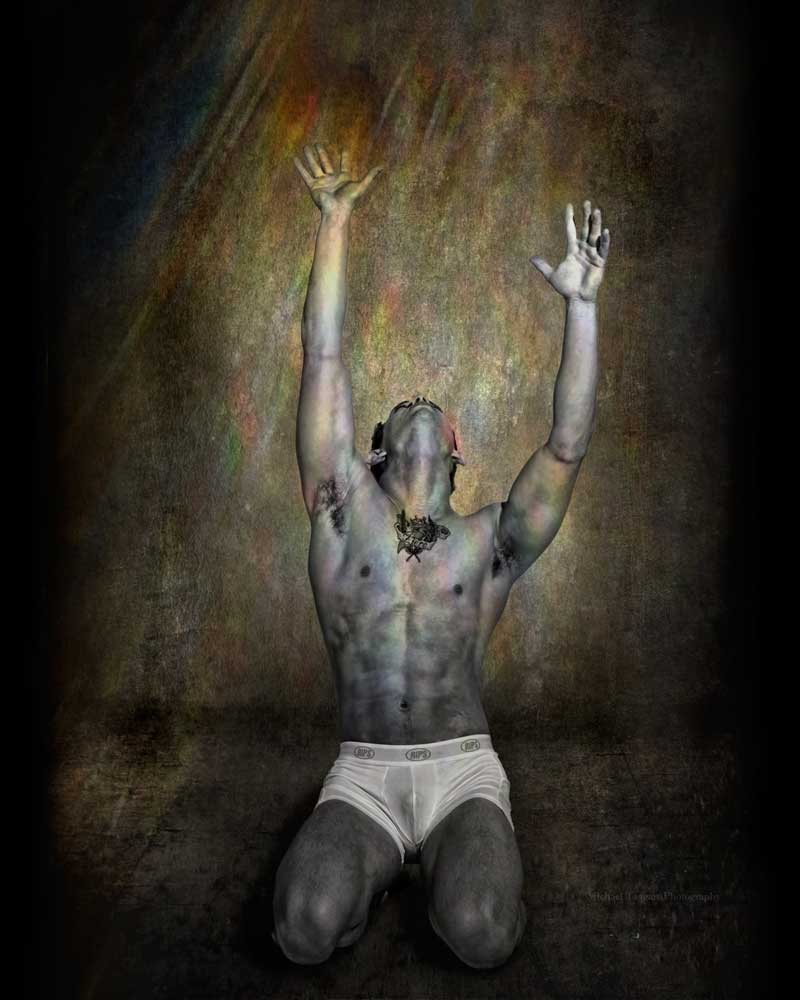 Redemption - Gay Art Male Art by Michael Taggart Photography