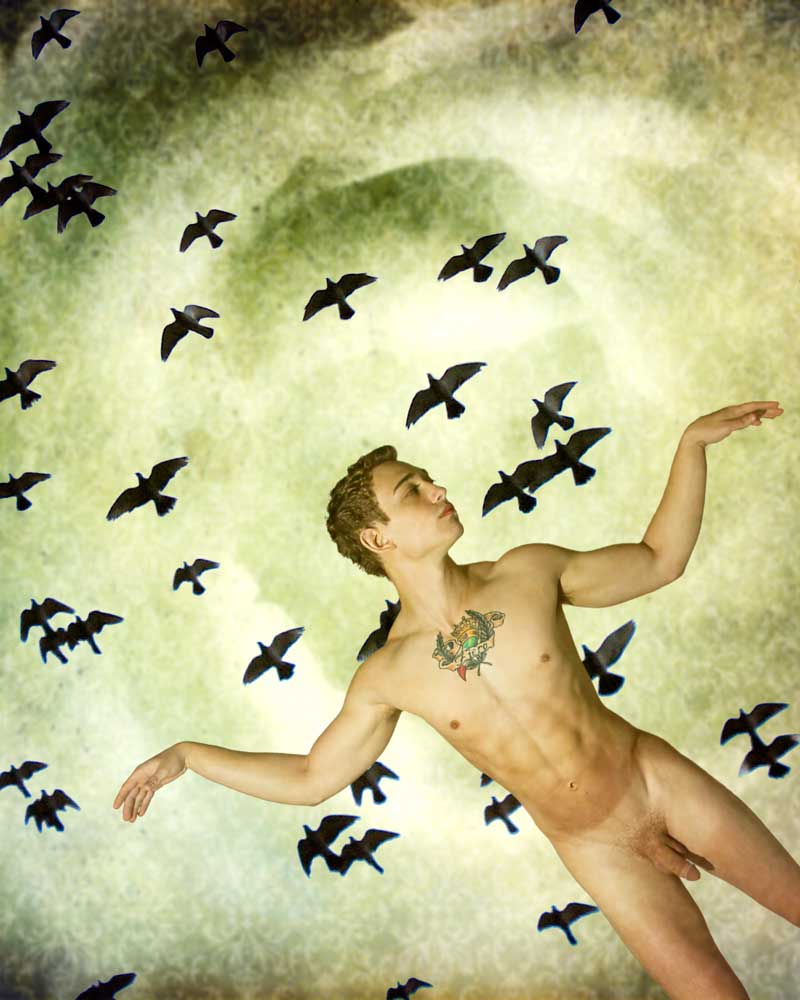 Trials of Eros 2 The Escape - Gay Art Male Art by Michael Taggart Photography