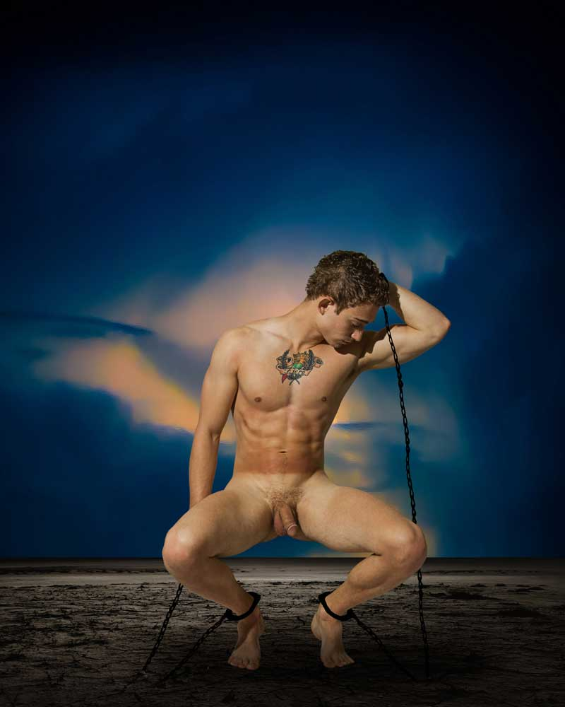 Trials of Eros  - Gay Art Male Art by Michael Taggart Photography