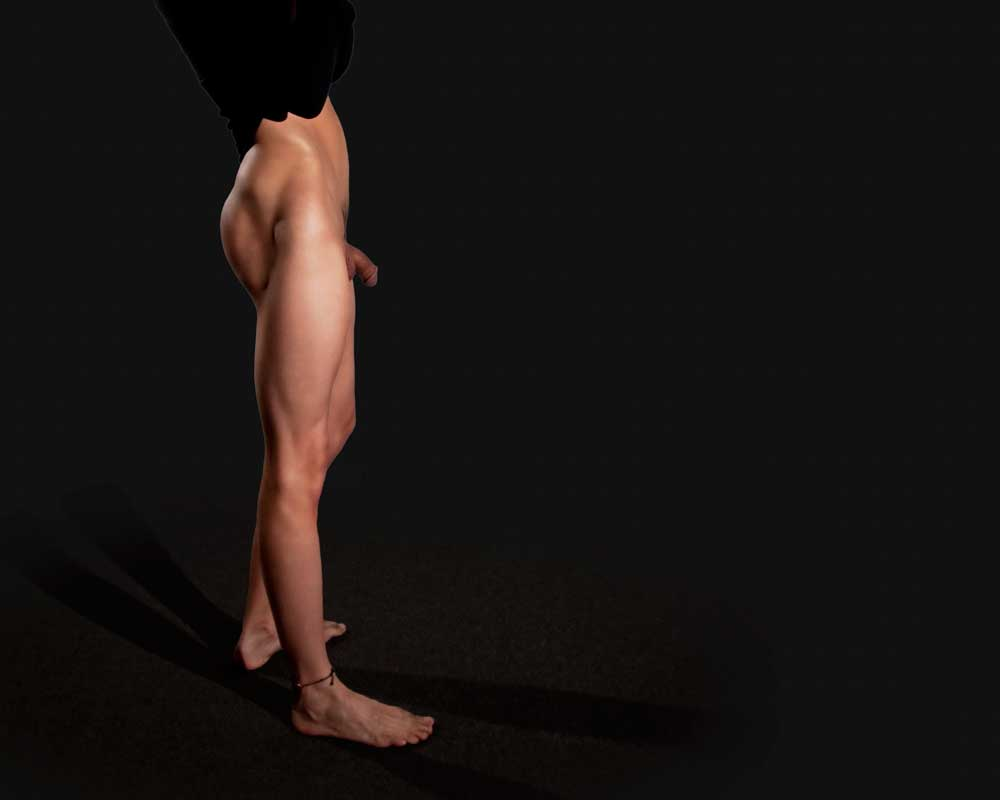He's Got Legs 2 - Gay Art Male Art by Michael Taggart Photography