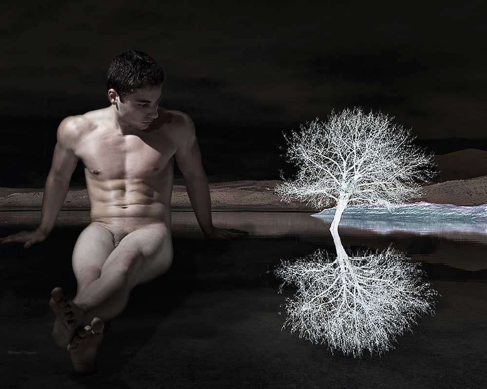 Dark Perspective - Gay Art Male Art by Michael Taggart Photography