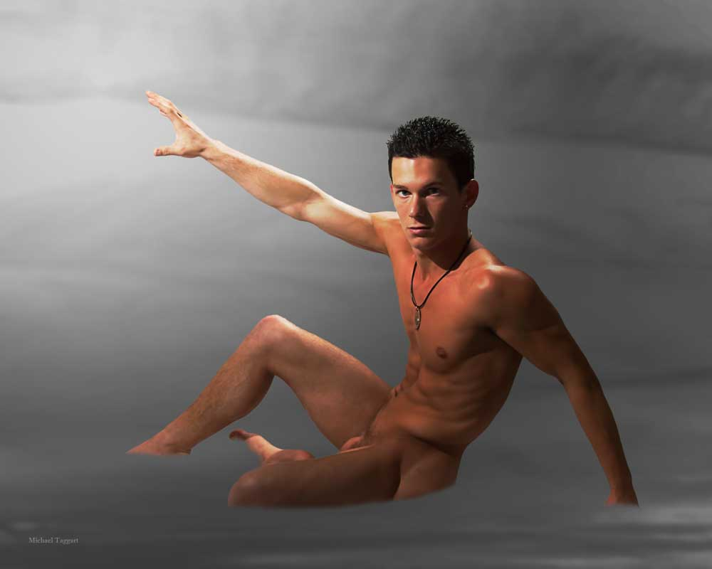 Dreams in the Mist  - Gay Art Male Art by Michael Taggart Photography